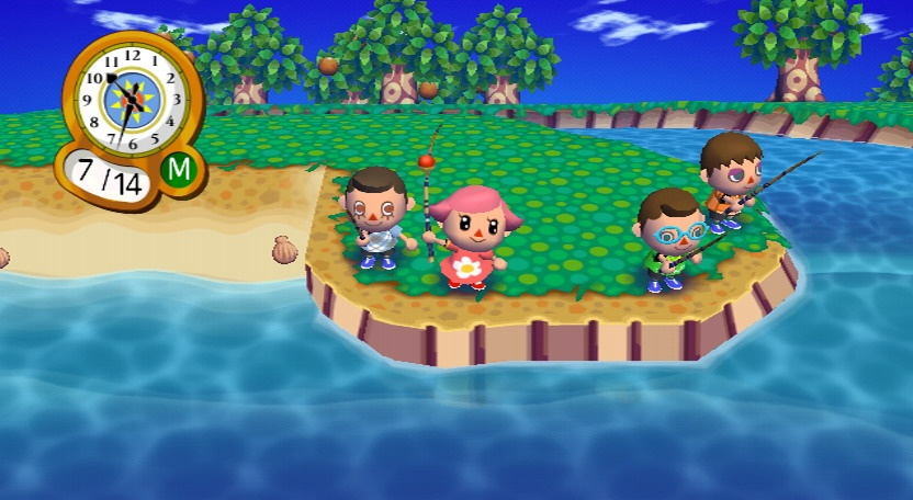 Get some friends together and go fishing. It's fun and you can make a few quick Bells.