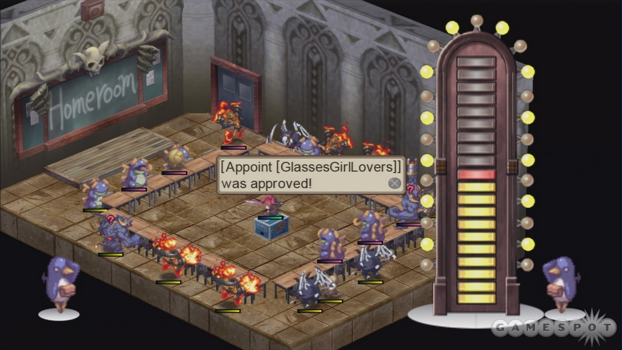 Homeroom replaces the dark senate, and it's just as absurd as ever.