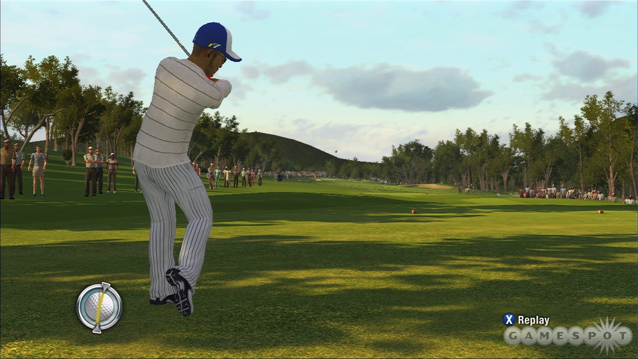 Now you can evaluate your swing in real time.