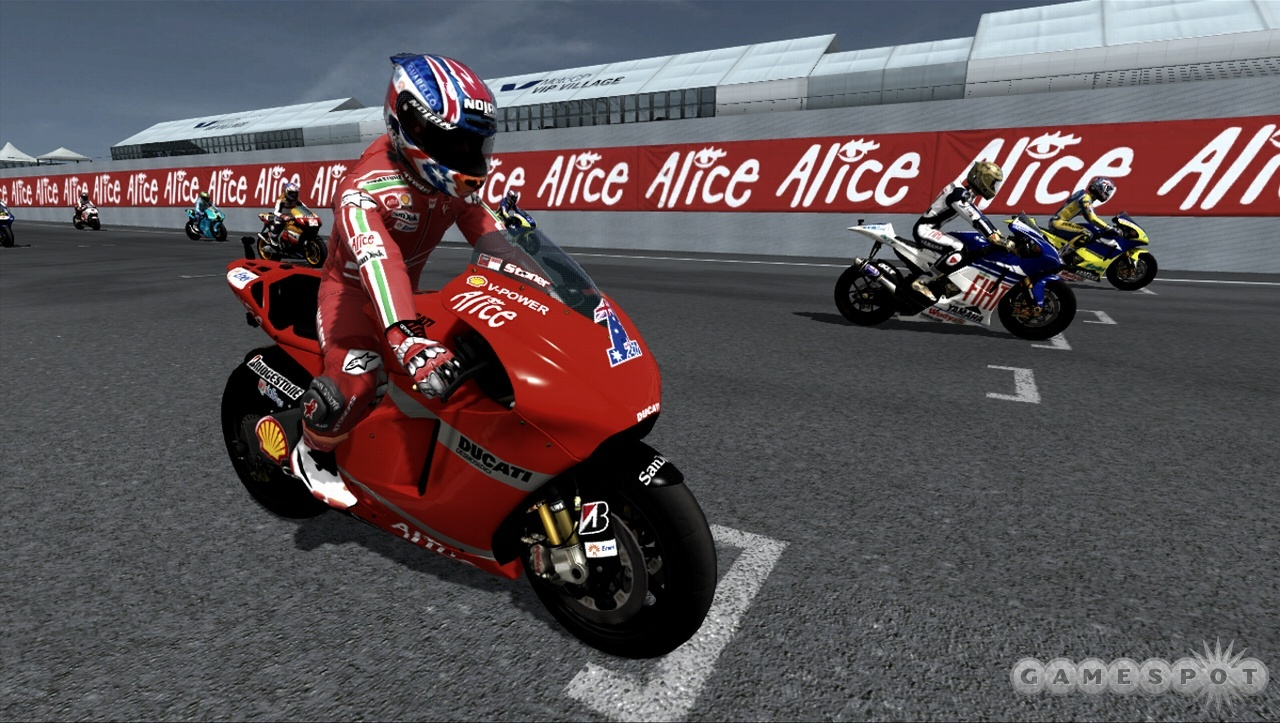 Capcom debuted its MotoGP series on the PS2 last year. With MotoGP 08, the game comes to current-gen systems.