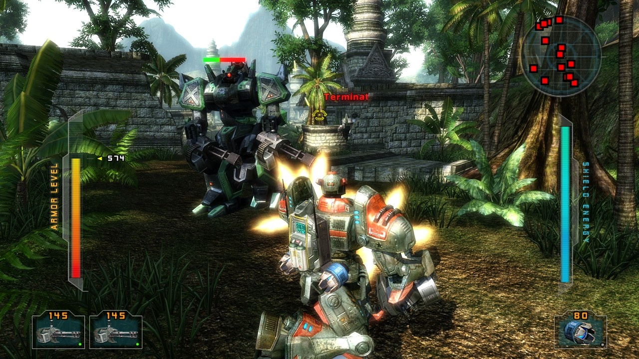 The mech combat in War World is boring and uninspired.
