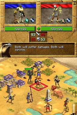 The visuals are nicely detailed, and you'll have no problem identifying units.