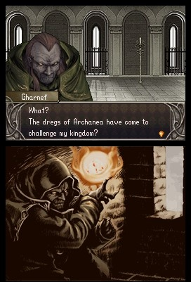 The visual overhaul allows you to better appreciate that Gharnef is a gnarly old bad guy.