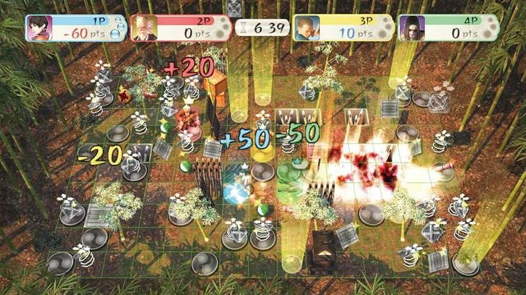 The multiplayer mode looks like Bomberman, but isn't nearly as much fun