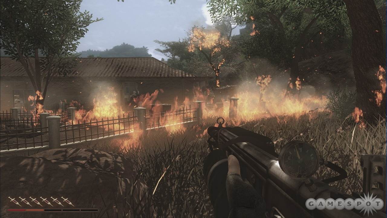 Fire is often your best friend, but not when it's raining or a mission takes you to a dense jungle.