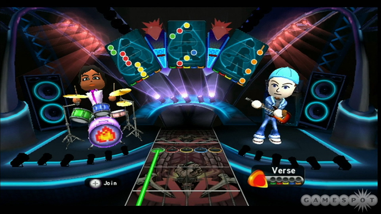 Using your Mii to jam is incredibly simple, but kind of fun.
