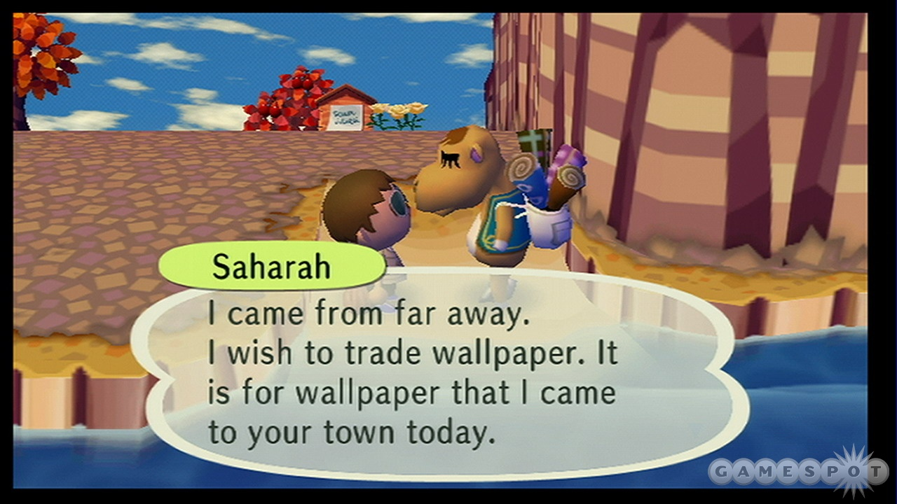 Many characters will only pass through your town on certain days.