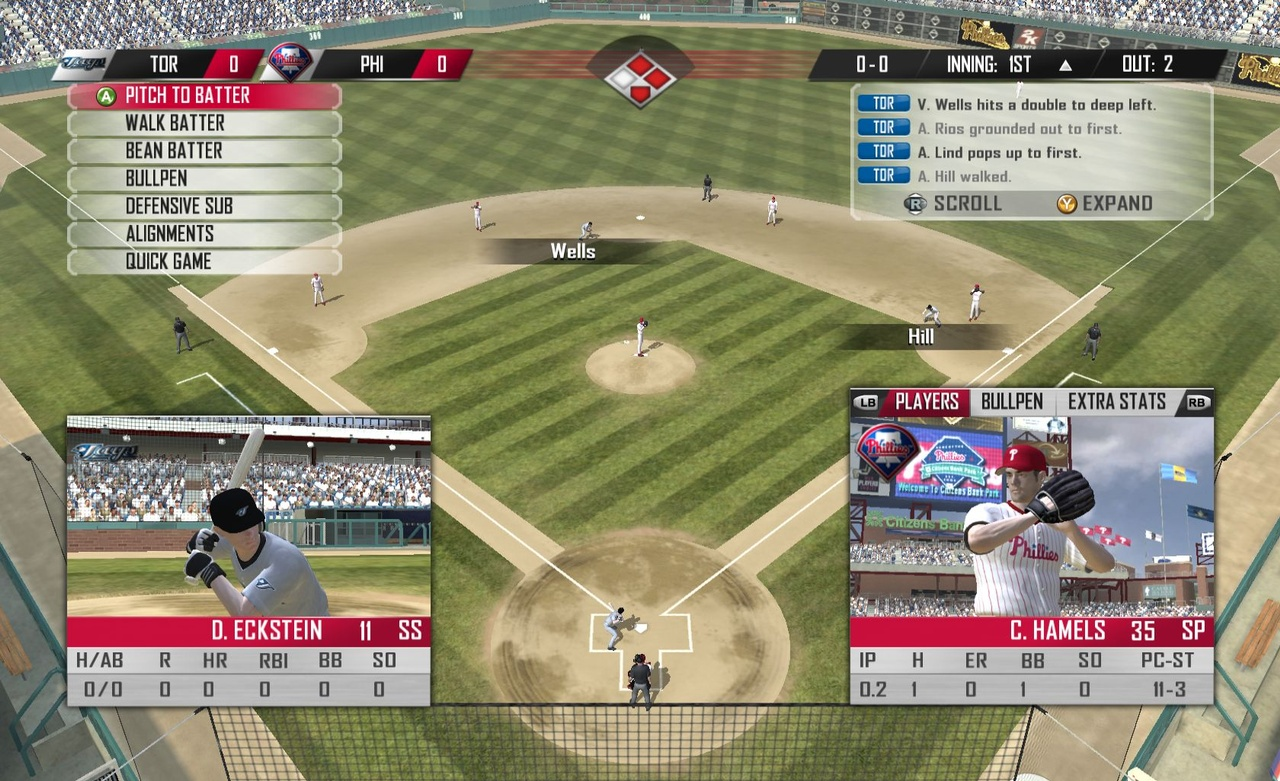 With batter-pitcher history driving the simulation engine, would-be GMs will have plenty to keep themselves busy on gameday.