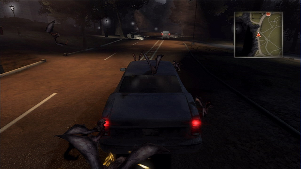 Improved car handling leaves you free to worry about the toothy monsters who are trying to rip you apart.
