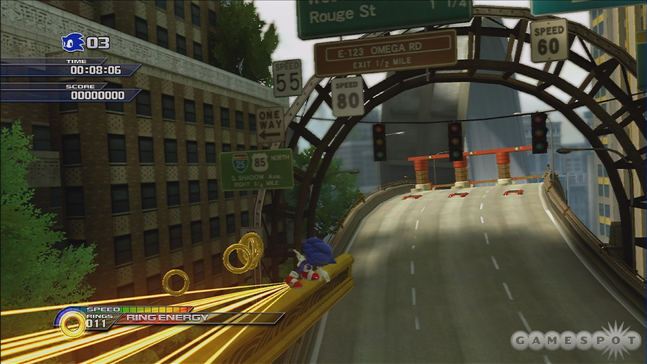Unleashed is at its best when you're barely interacting with Sonic.
