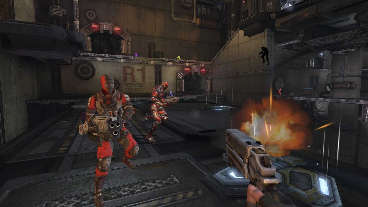 Psychic powers or not, CellFactor: Psychokinetic Wars looks and plays a lot like classic Unreal Tournament.