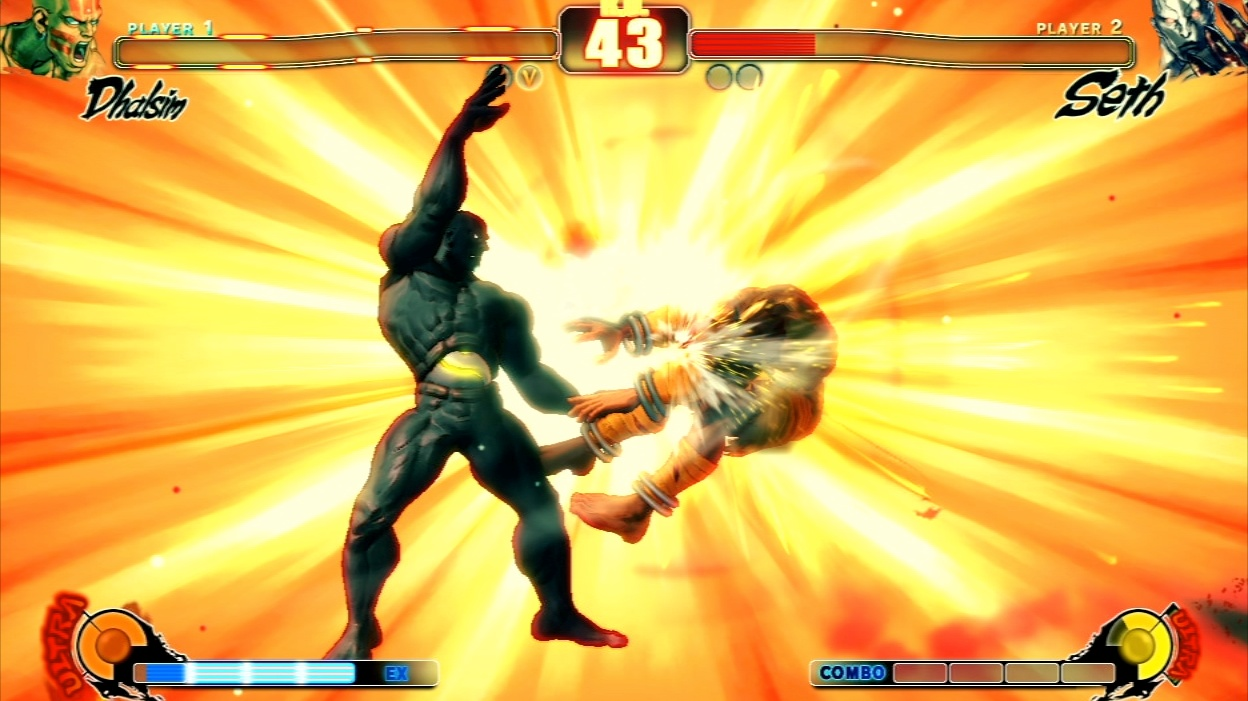 Super and ultra combo finishing moves really rub it in your opponent's face with drawn-out, flashy animations.