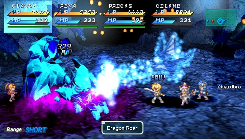 A generally fast-paced battle system and flashy spell effects keep fights interesting.