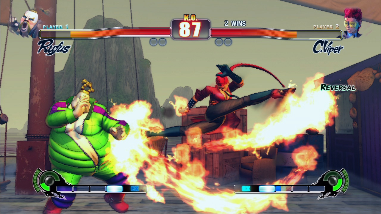 Six new characters join the Street Fighter IV roster, all with their own unique backstories and abilities.