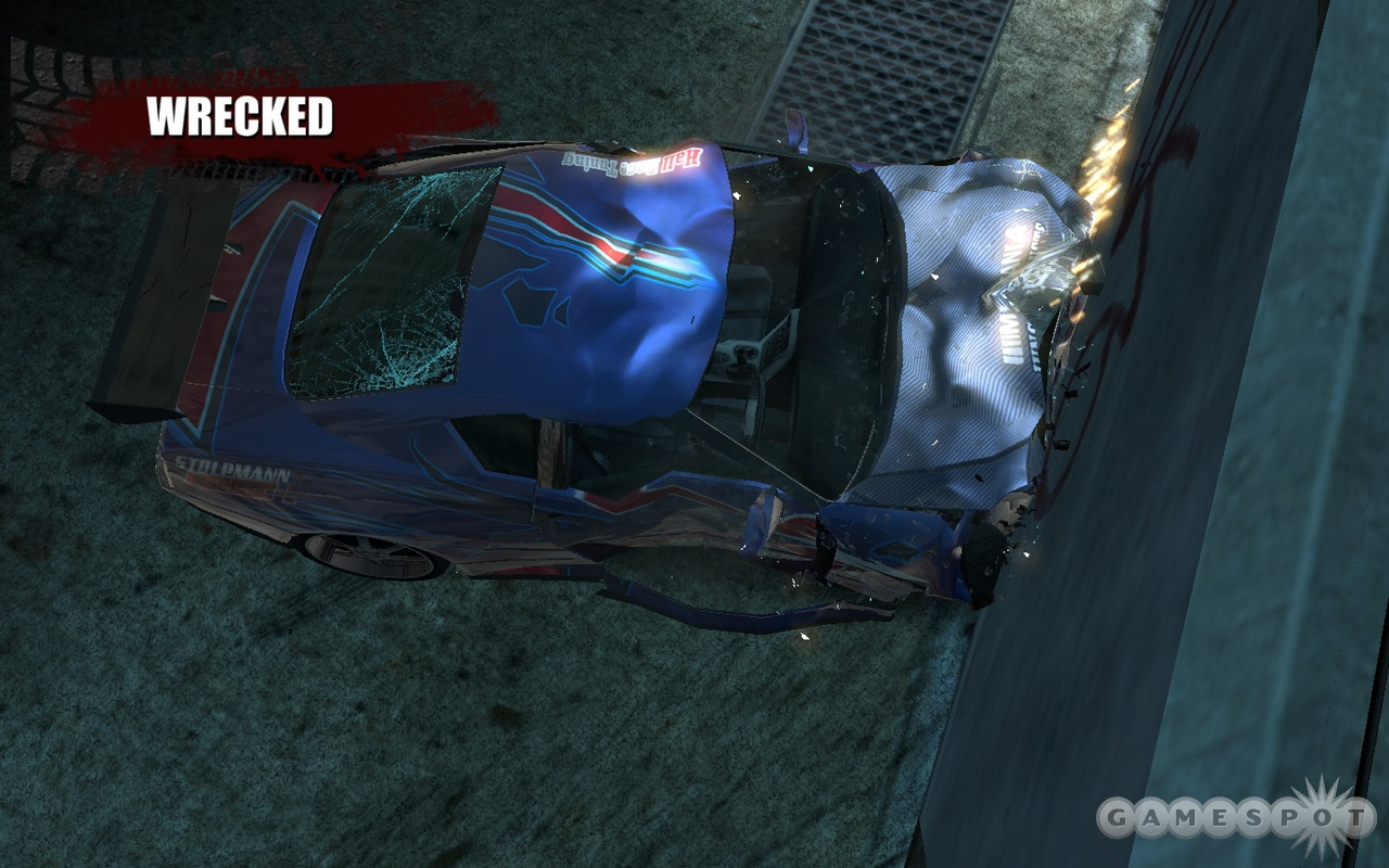 It wouldn't be Burnout if the wrecks weren't superbly detailed and satisfying.
