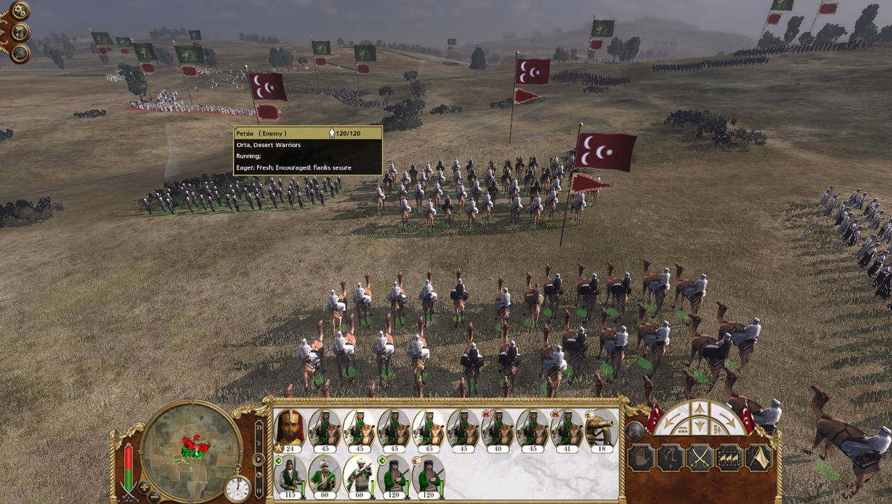 Camels are never not cool in strategy games.