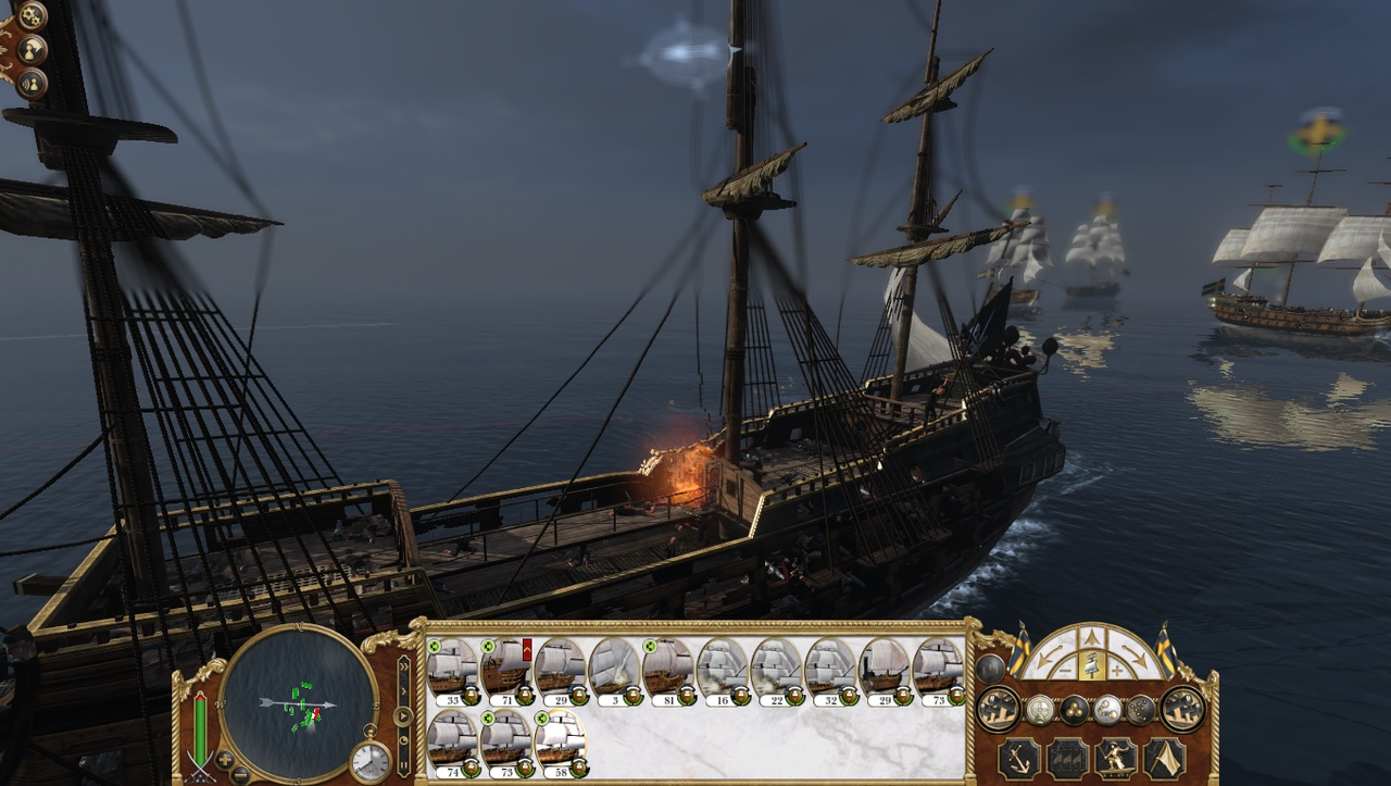 Naval battles may not feature the most impressive AI, but they're sure awesome to watch.
