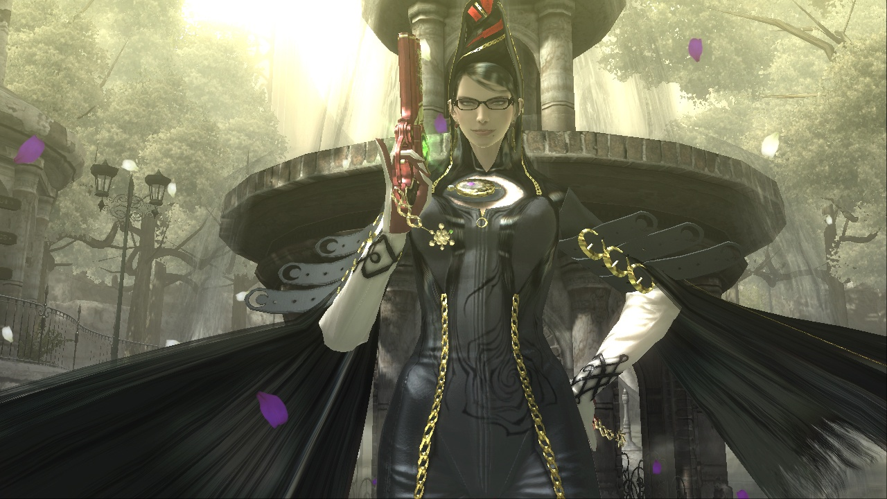 Bayonetta's suit is made of hair. That's right, hair.