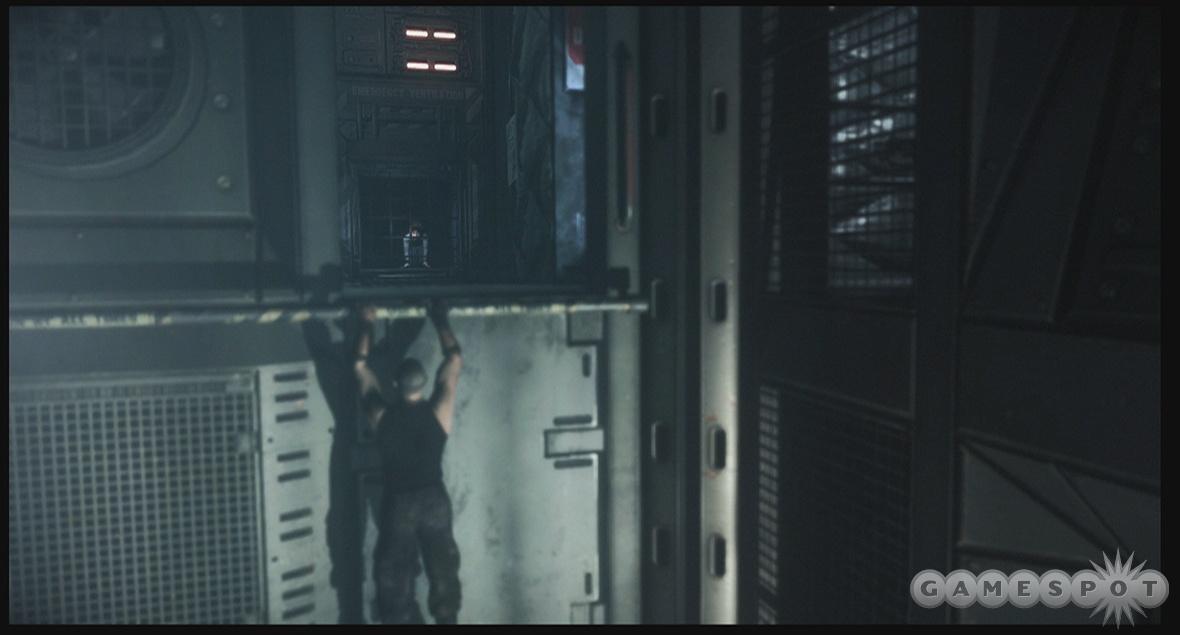 Riddick lives life on the ledge.