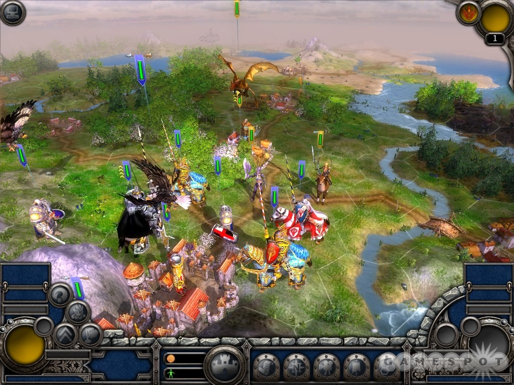 Some multiplayer maps start the players next to each other, ensuring that combat will break out in the first turn.