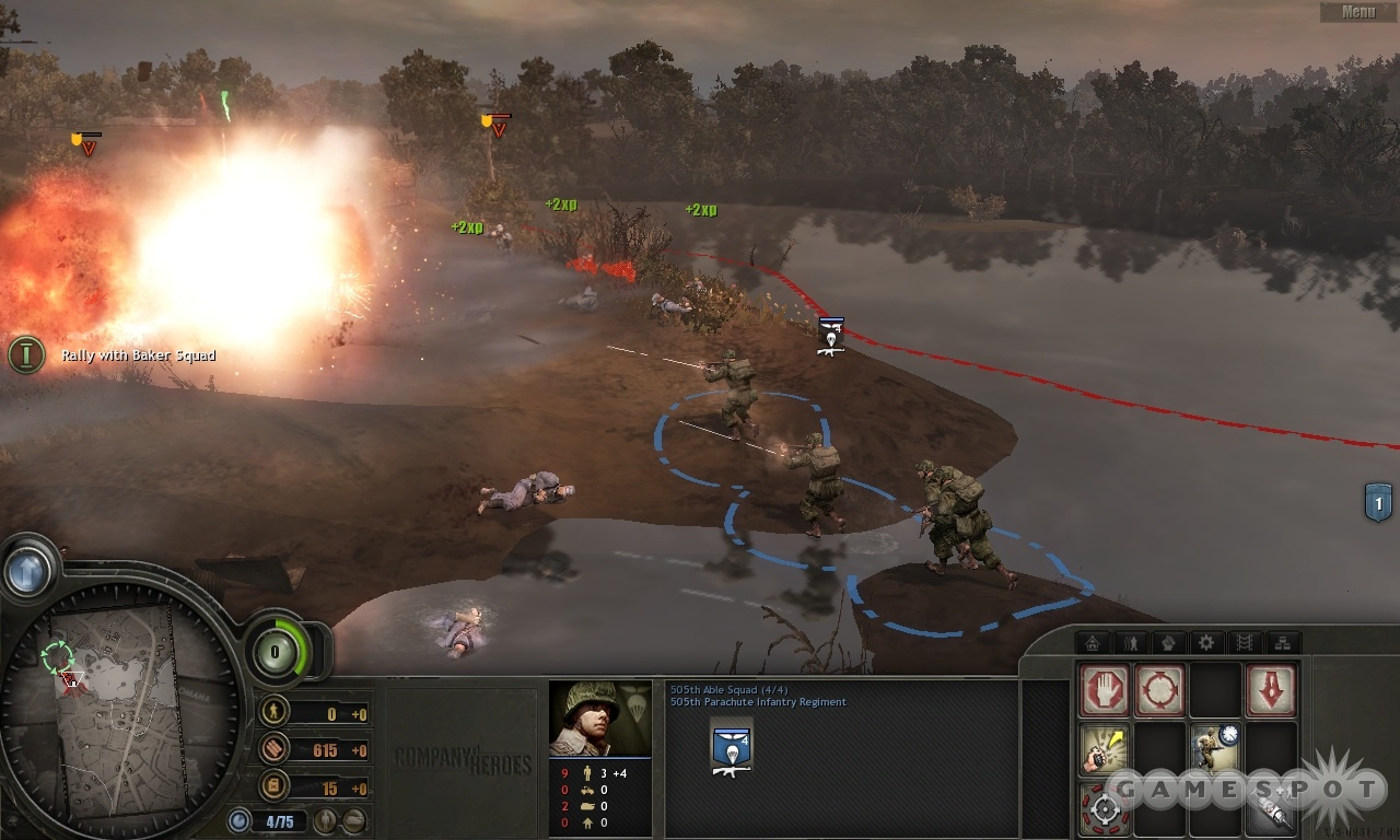 Squad-level combat is the main focus of the three Tales of Valor solo campaigns.