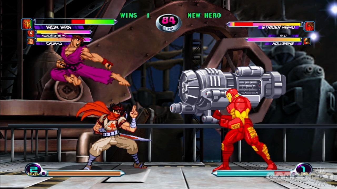Marvel vs. Capcom 2 Hands-On - GameSpot