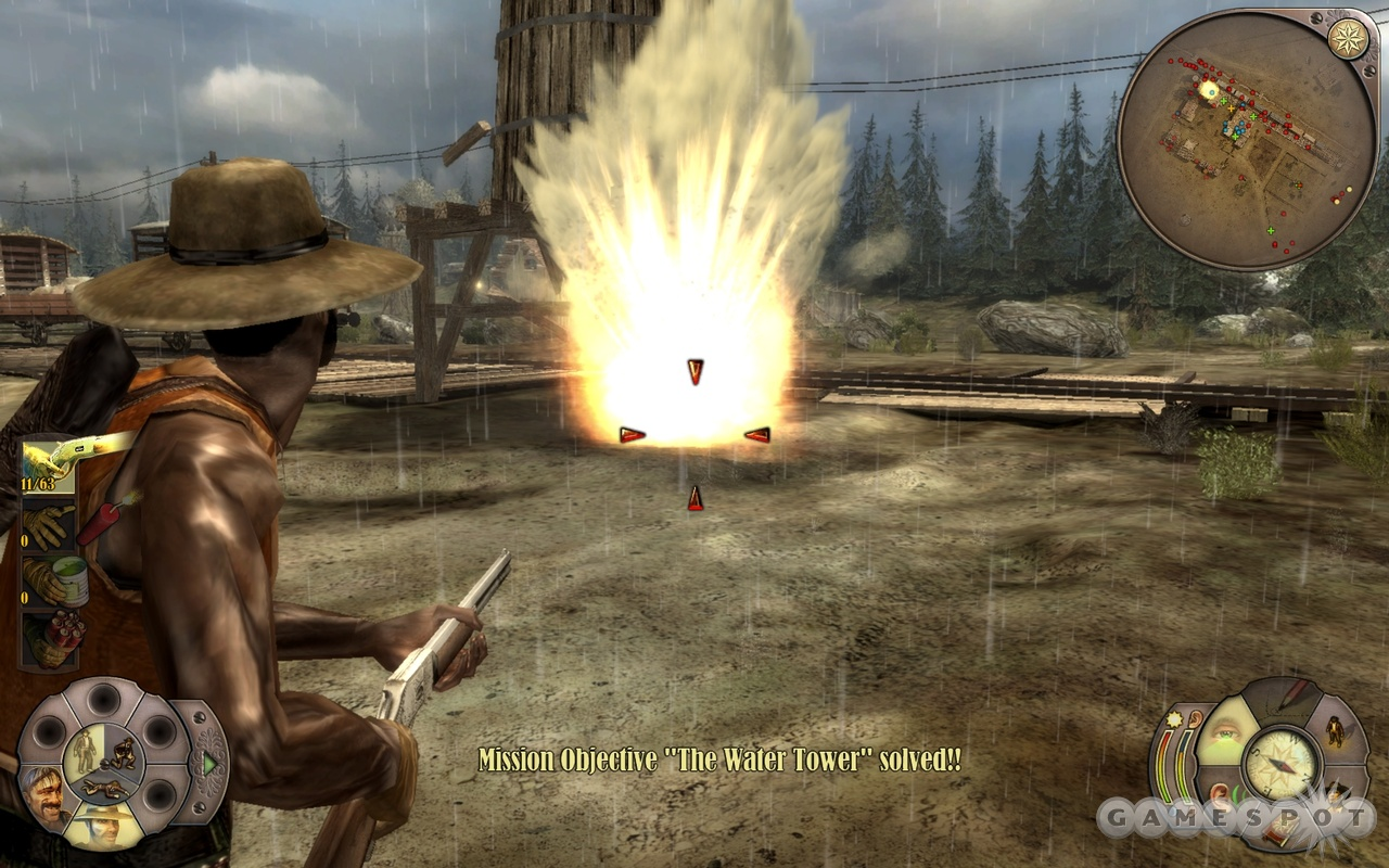 Every member of your Wild West gang has some deadly talents, but they don't do much good when you're faced with sneaking past dozens of sentries.