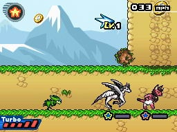 The 2D races are awesome.