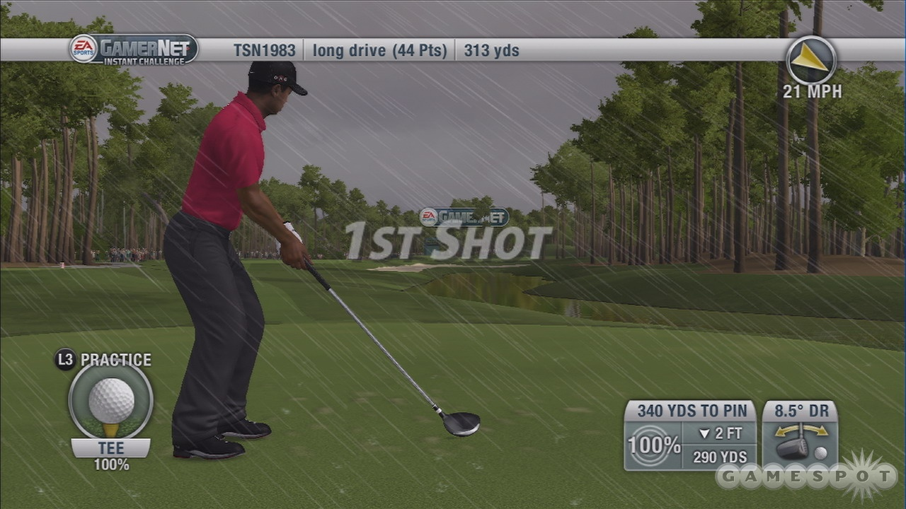 GamerNet challenges and live weather are just two benefits of playing online.
