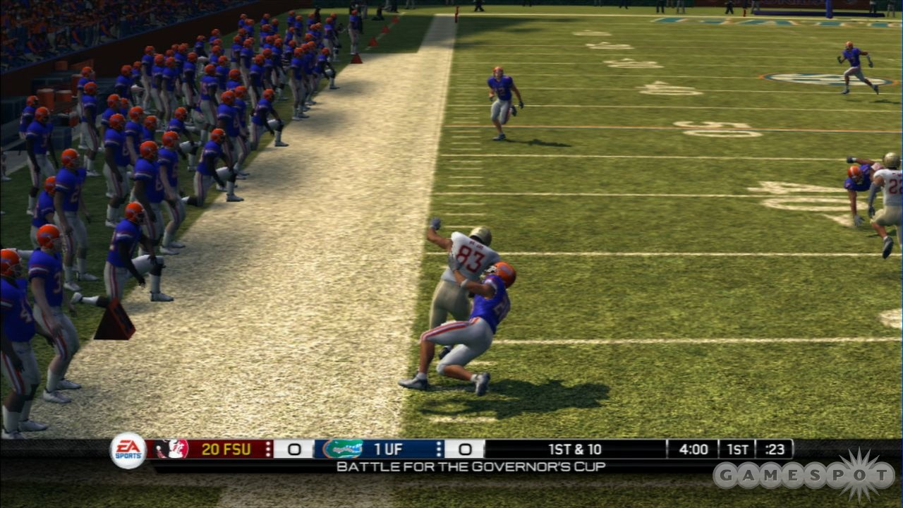 Florida and Florida State renew their rivalry in NCAA Football 10.