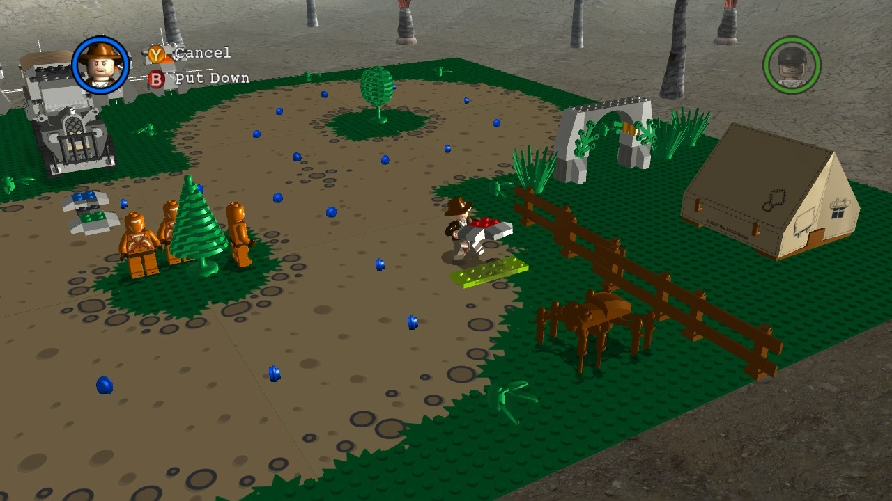 Finally, a Lego game that lets you build something.