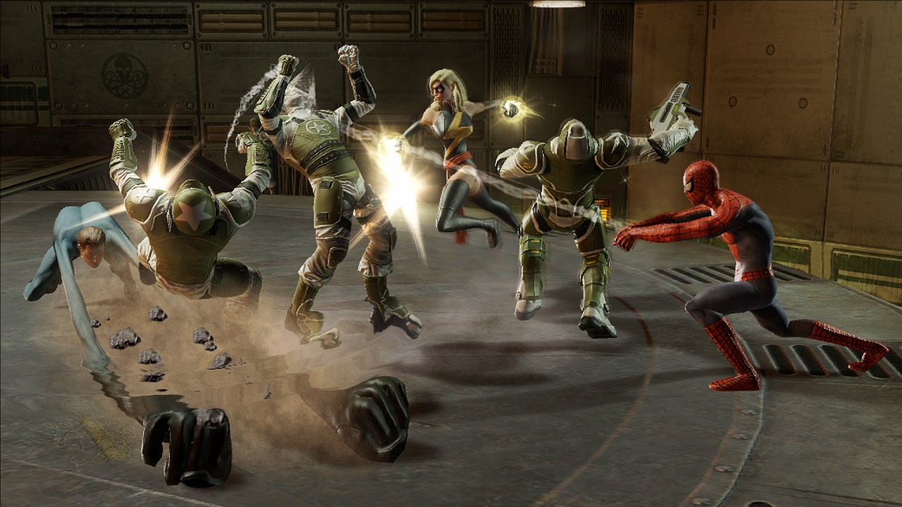 Ultimate Alliance has a roster of 24 classic Marvel heroes.