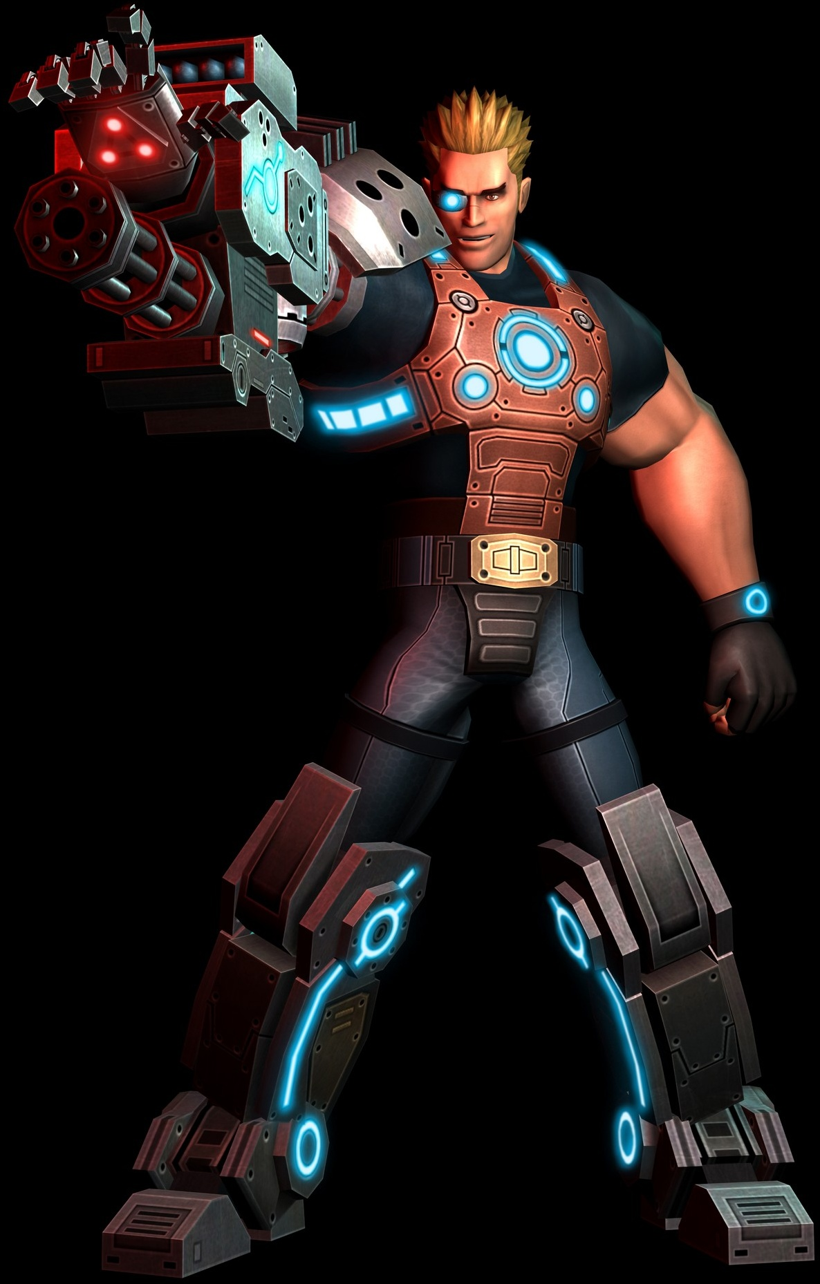 Mega Man may be Capcom's best-known cybernetic creation, but he'll need to make room for Stinger.