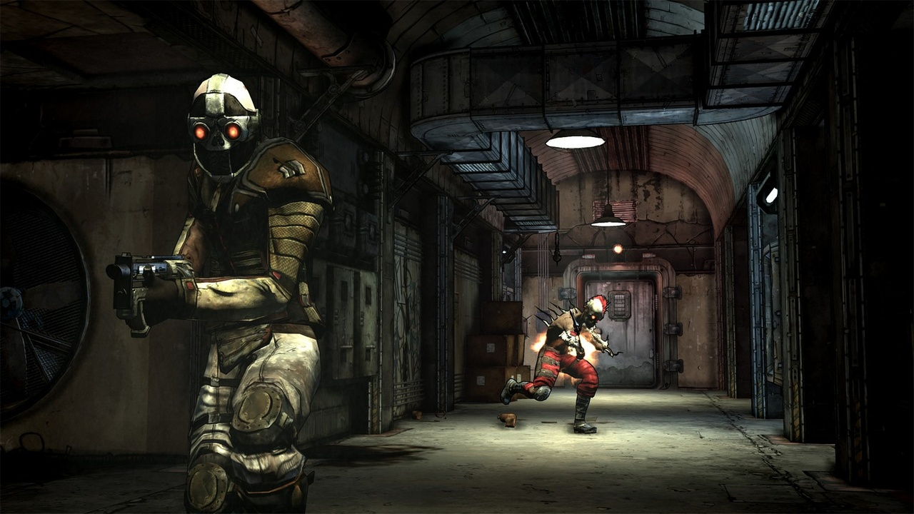 The stealthy siren is one of four playable classes in Borderlands.