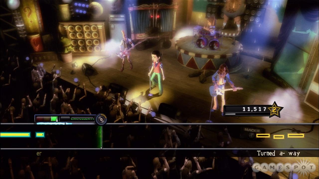 Xbox 360 Avatars make strange band fellows.