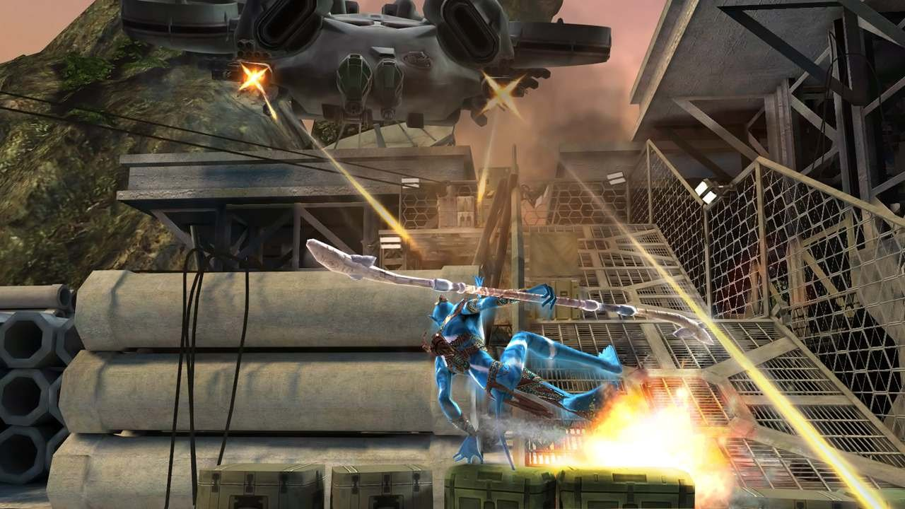 Avatar offers both on-foot, and aerial combat.