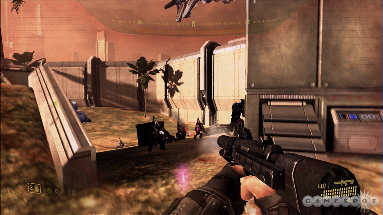 The silenced submachine gun is one of the new weapons, though being quiet is rarely necessary.