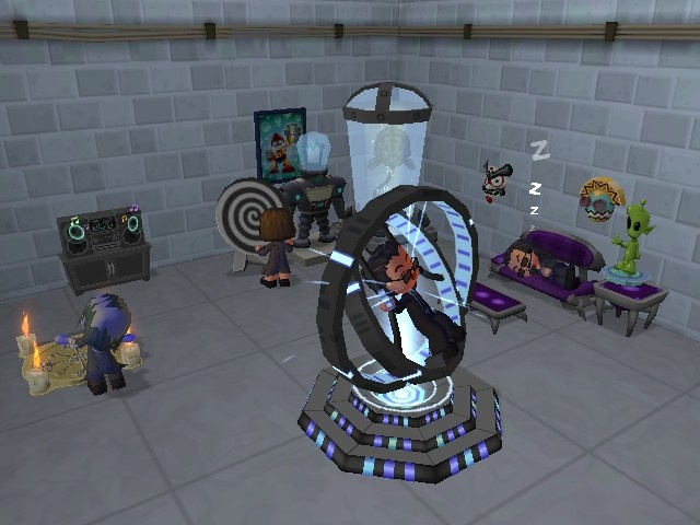 Decorating your spy HQ has a measurable impact on your agent's skills.