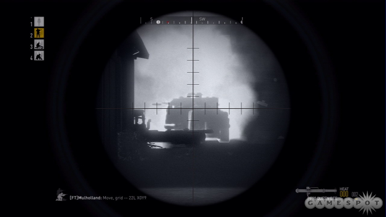 Destroying an enemy vehicle takes a little shoulder-mounted 'oomph.'