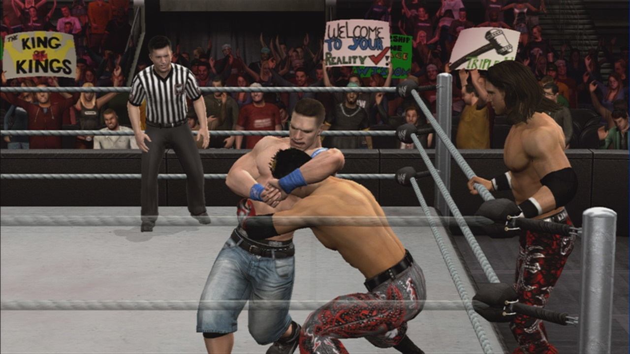 Any closer to the ropes and John Morrison is likely to make John Cena's life a little tougher.
