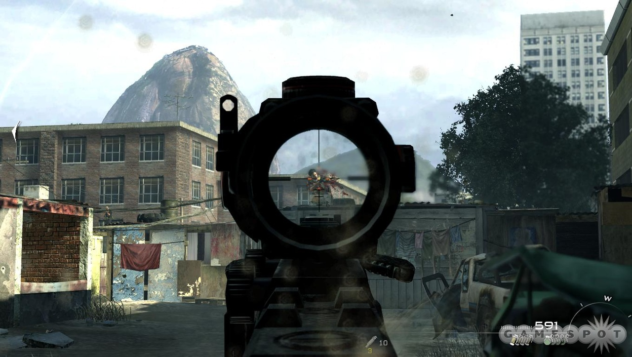 In the slums of Rio, a scoped assault rifle is a man's best friend.