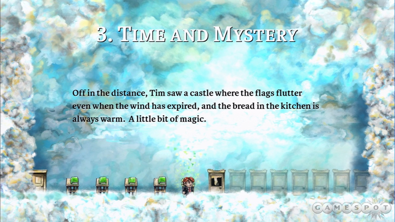 The story in Braid is far from typical.