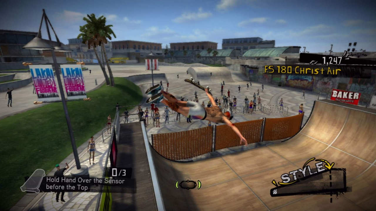 With Ride, the Tony Hawk franchise takes a dive.