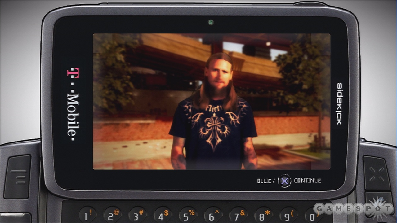 Mike Vallely really wants you to buy a Sidekick. You wouldn't say no to Mike Vallely, would you?