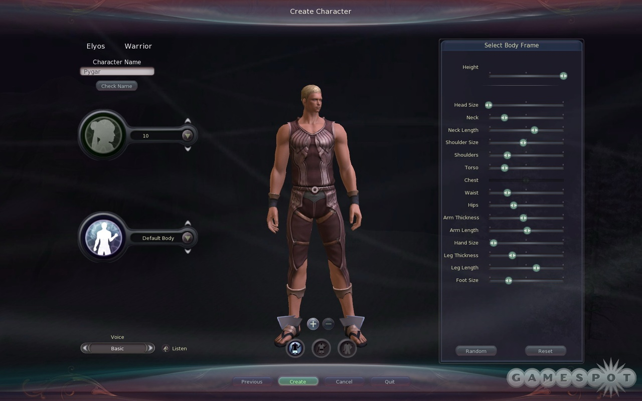 Character creation is something that you might have a little too much fun with.