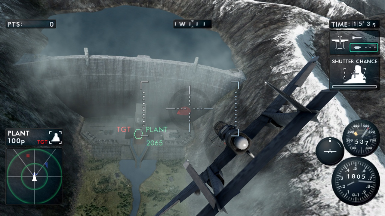 Varied mission goals include that WWII flight-sim standby: dam busting.