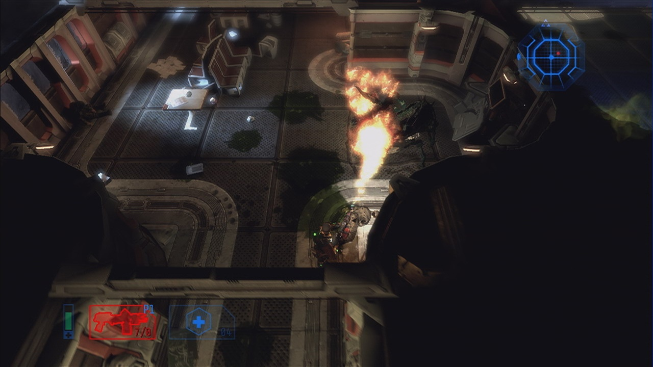 The flamethrower is as deadly and as satisfying as it looks.