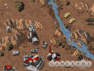 The original Command & Conquer, in all its DOS-based glory.