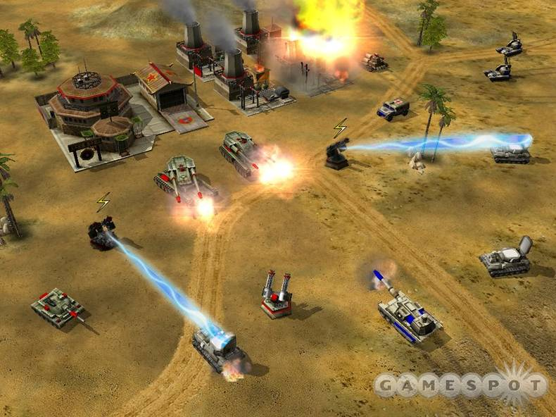 Generals left Tiberium and the Soviets behind in favor of a different fictional world war.