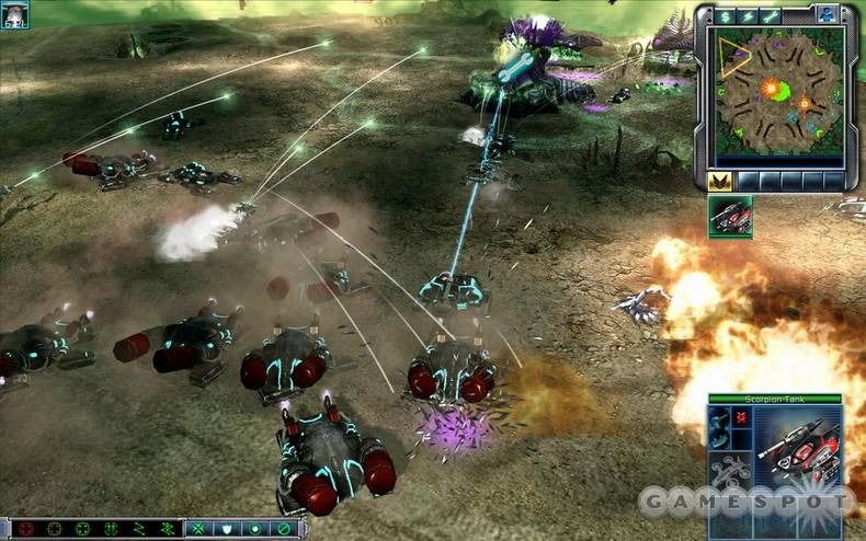 Tiberium Wars was the long-awaited return of the Command & Conquer series. It was also a great game in its own right.
